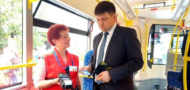 Онлайн-касса для автобуса